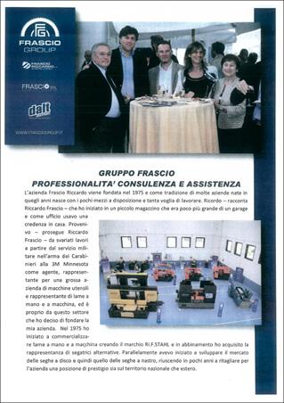 Gruppo Frascio professionalità consulenza e assistenza