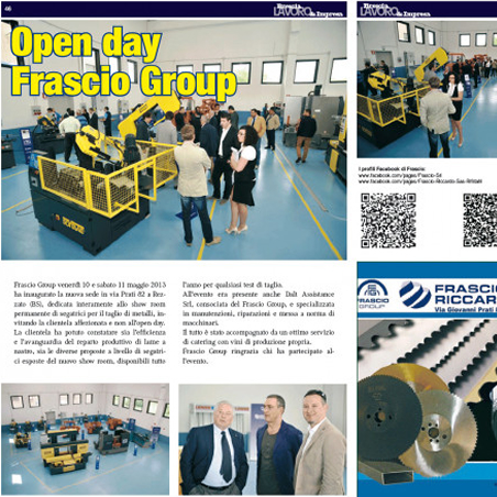 Open day Frascio Group